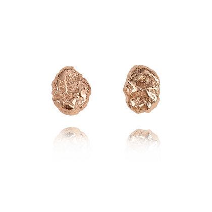 Raw Gold Earrings