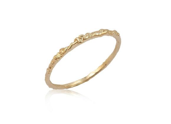 Dainty Moss Ring
