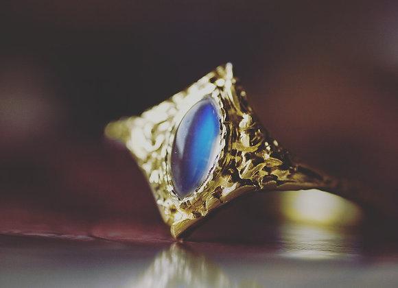 Twinkle Moonstone Ring