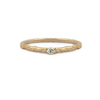 Diamond Moss Ring