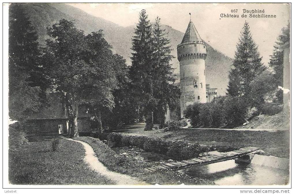 Le château de Séchilienne
