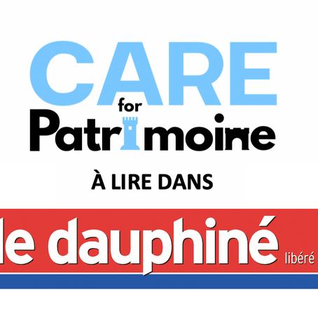CARE for Patrimoine dans le Dauphiné libéré