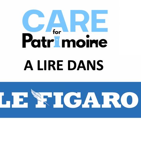 CAREforPatrimoine  dans Le Figaro