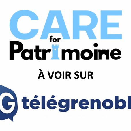 CARE FOR PATRIMOINE SUR TÉLÉGRENOBLE