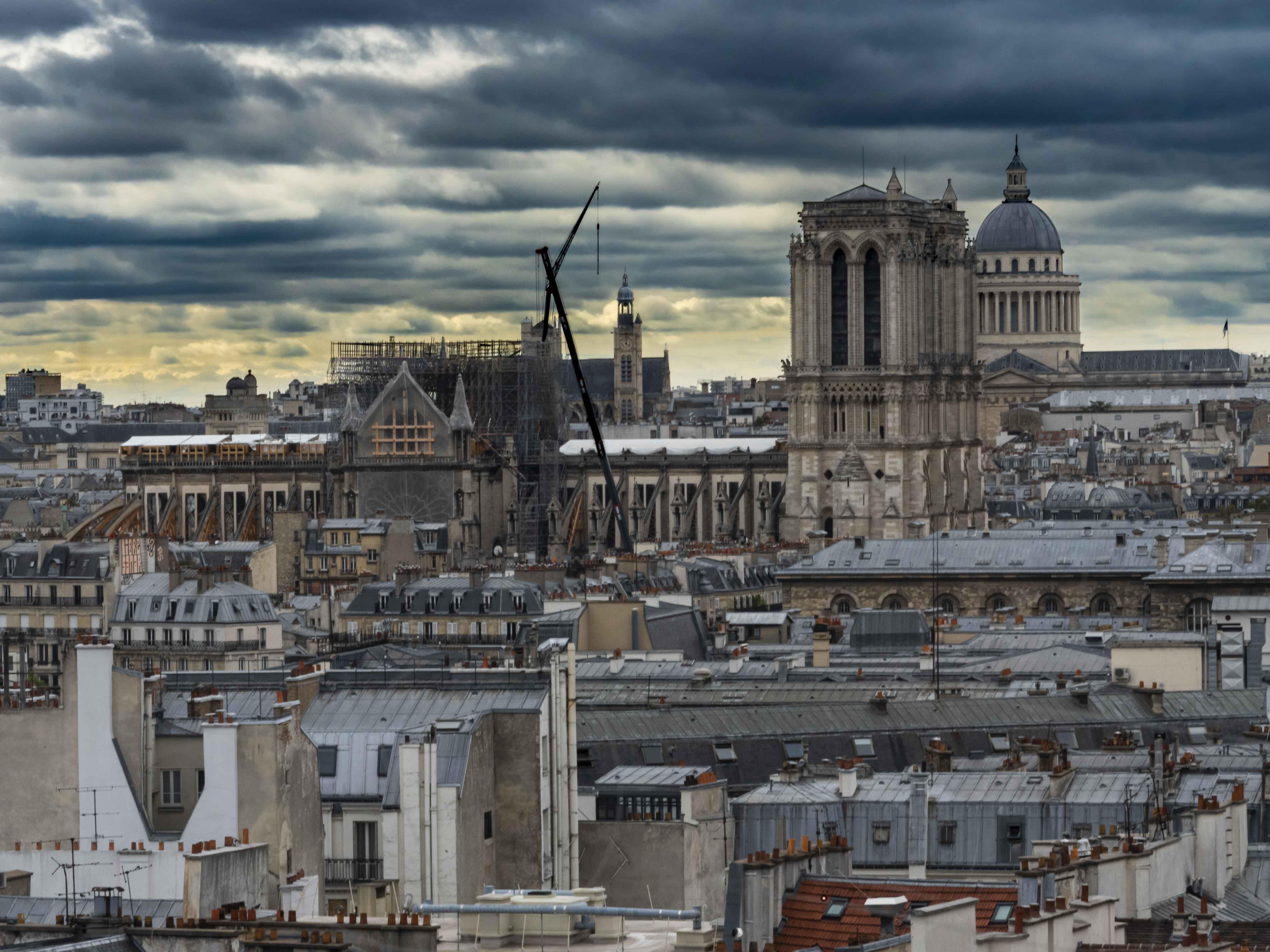 ND de Paris en travaux