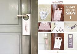 Do-Not-Disturb door hang