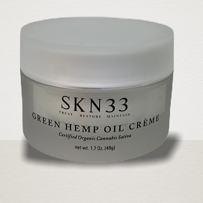 Green Hmp Oil Cream