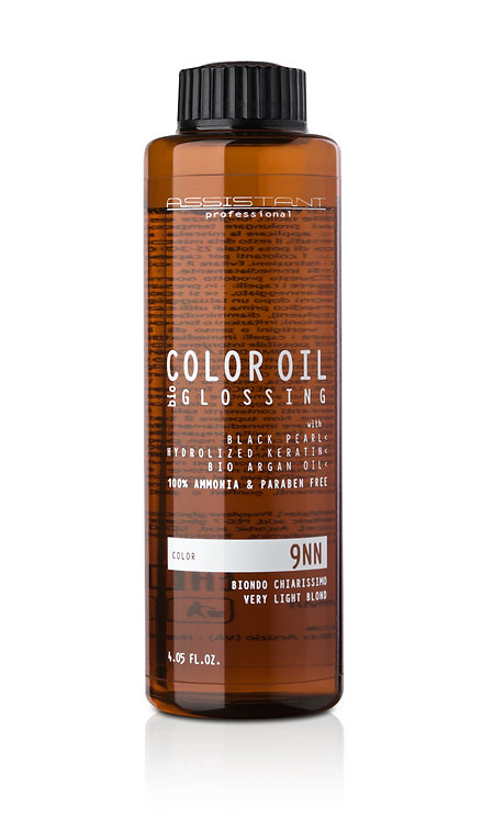 """Масляный краситель""""Color Bio Glossing"""" Золотисто пепельные оттенки"""