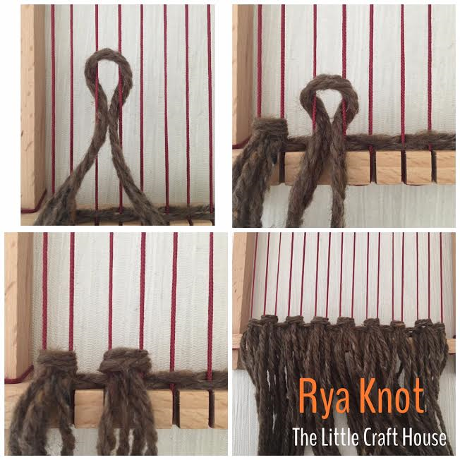 Creating Rya Knots or Tassels