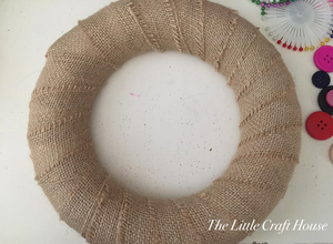 Wrap the ring in hessian