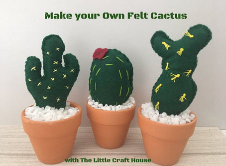 Make Your Own Felt Cactus!