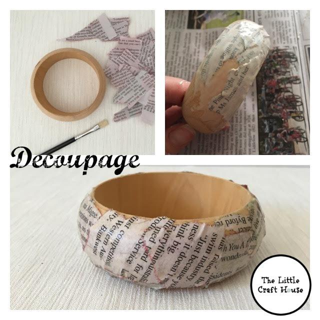 Decoupage Bangle