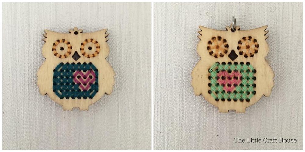 Stitch Pendant Inspiration - Owls
