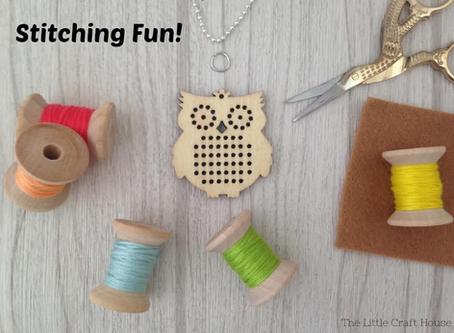 Stitch Pendant Inspiration!