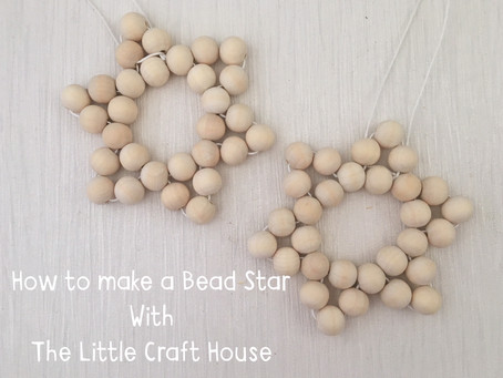 How to Make a Beaded Star