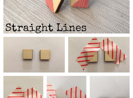 Laser Cut Wood: Painting Straight Lines