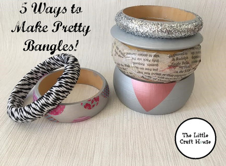 Jewellery Projects: 5 Ways to Make Pretty Bangles