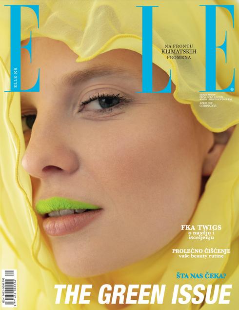 """Cover story """"Sun of the desert"""" ELLE SERBIA"""