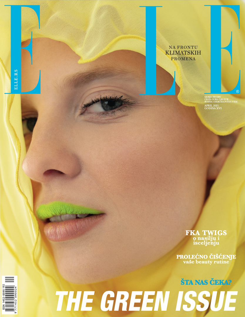 "Cover story ""Sun of the desert"" ELLE SERBIA"