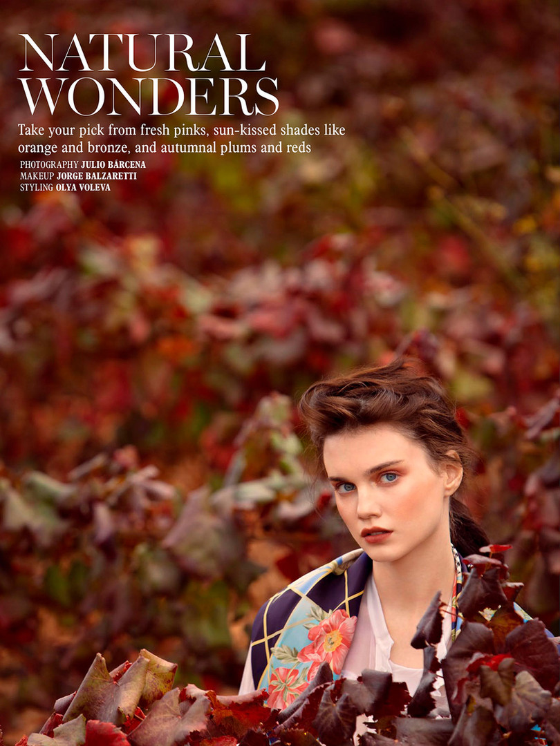 """Natural wonders"" L'OFFICIEL SINGAPORE"