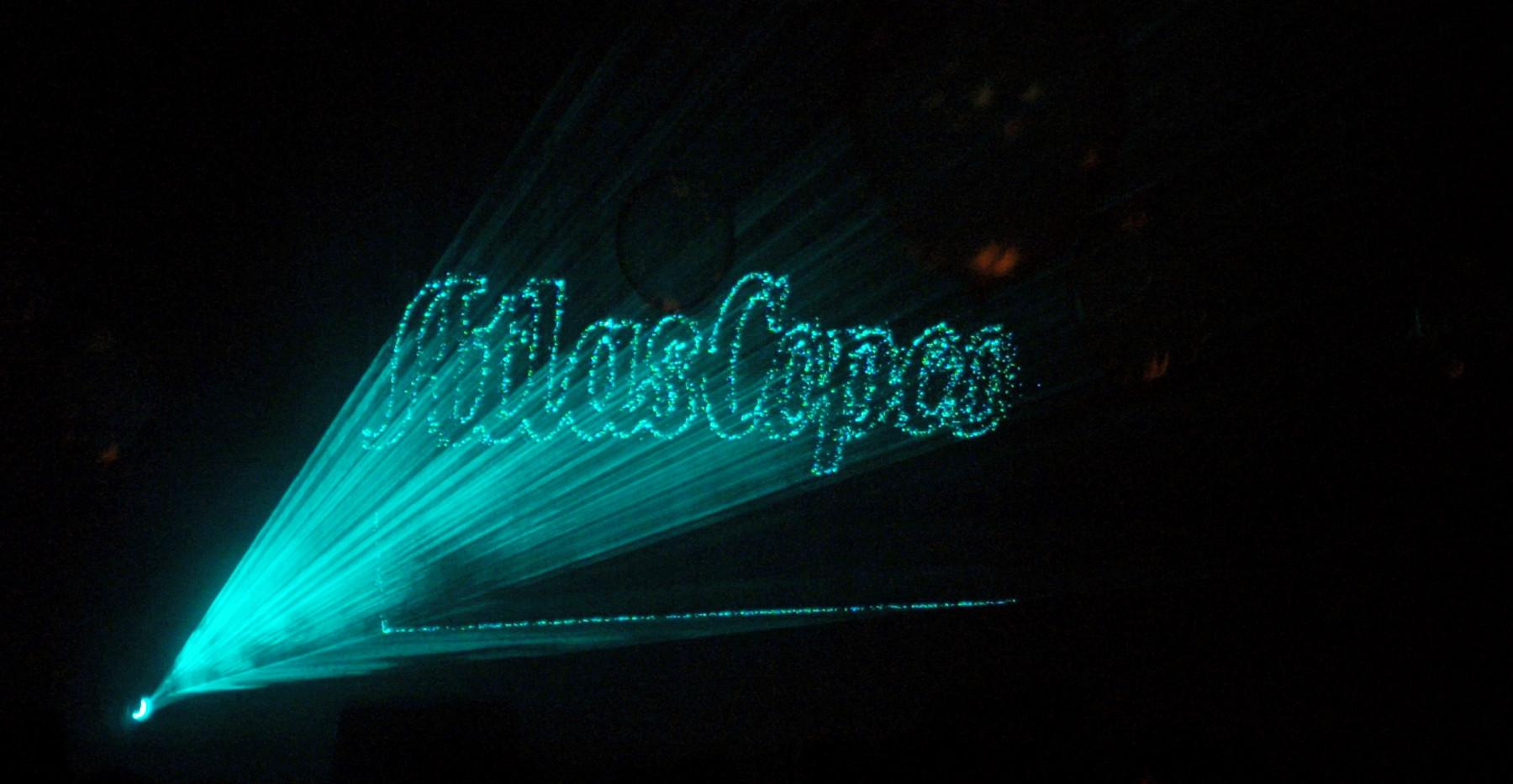 Laser Water Curtain