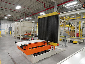 roll handling, material handling, factory automation, industrial contractor