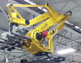 robotics, palletizing, Factory automation, industrial contractor, fanuc robots