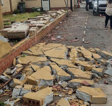 London's tornado