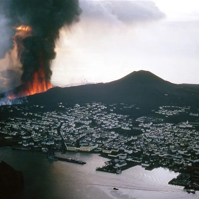 The last time Iceland 'flooded' with lava