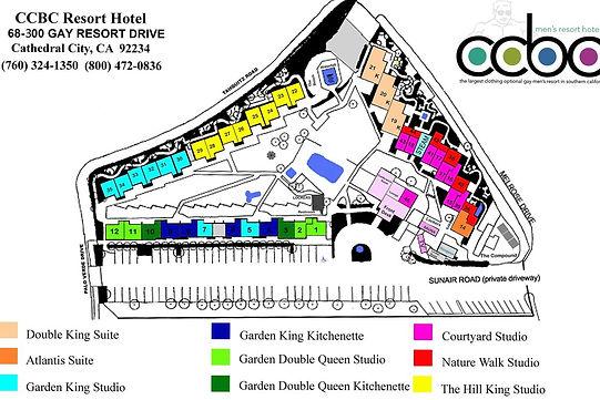 CCBC Resort Map
