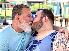 gay bears kiss
