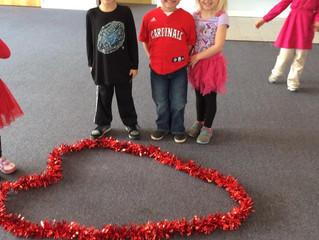 St. Luke's Preschool February Review
