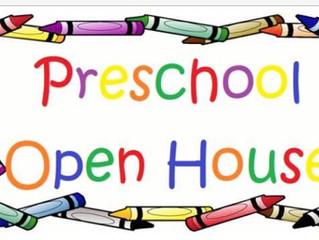 St. Luke's Preschool Open House 2017