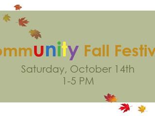 St. Luke's CommUNITY Fall Festival