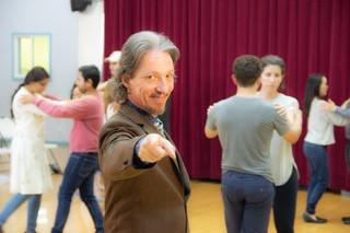 Marcelo Solis teaching Argentine Tango i