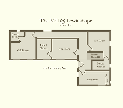 The Mill - Lower Floor Plan