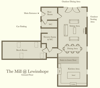 The Mill - Ground Floor Plan