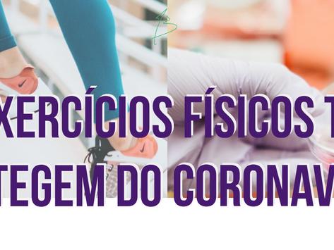 Exercicios físicos te protegem do Coronavírus