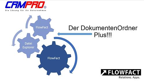 FLOWFACT - Dokumtenten-Ordner PLUS