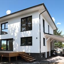 Wohnhaus mit Putzfassade