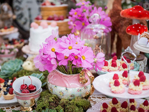 English Inspired Tea Party