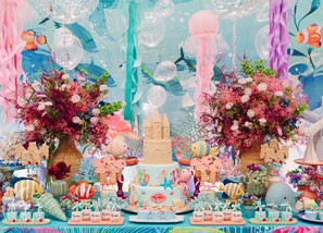 Under the Sea Party: Exuberant Colors and Shapes