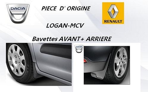 Bavettes ORIGINE-Av+Ar-LOGAN-MCV