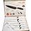 Thumbnail: Set de 6 couteaux anti bactérien blanc