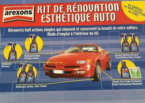 Kit de rénovation esthetique auto