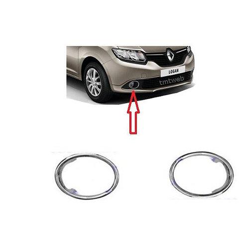 Entourage de feux Anti brouillard Dacia Sandero/Renault Symbol