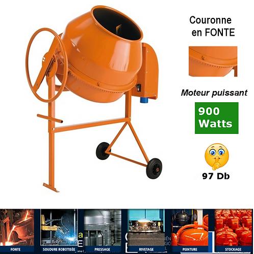 BÉTONNIÈRE ÉLECTRIQUE 140 litres-900 watts