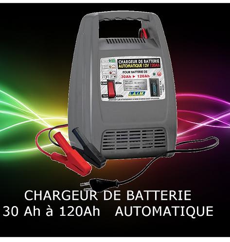 Chargeur de batterie automatique 120Ah