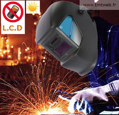 Casque/masque à souder LCD