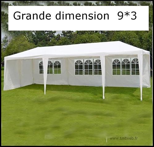 Tente de jardin-barnum-tonnelle